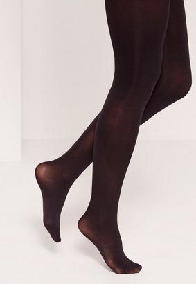 Missguided Black 50 Denier Stockings