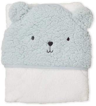 Baby Essentials Chick Pea (Newborn/Infants) Sherpa Bear Hooded Towel