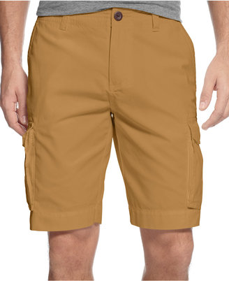 """Tommy Hilfiger Big and Tall 10"""" Classic Cargo Shorts $65 thestylecure.com"""