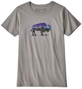 Patagonia Women's Fitz Roy Bison Organic Crew T-Shirt