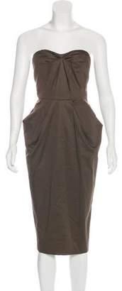 Amanda Wakeley Elements Strapless Dress