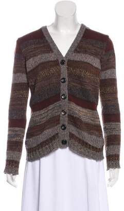 Dolce & Gabbana Striped Knit Cardigan