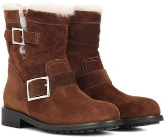 Jimmy Choo Youth suede ankle boots