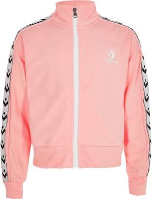 Converse Girls light Pink tracksuit jacket