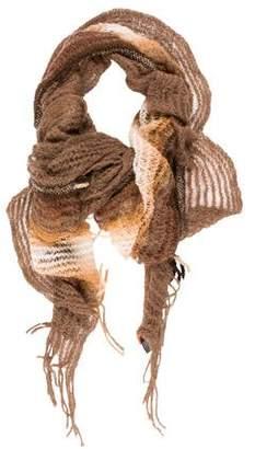 Missoni Open Knit Ruffled Shawl