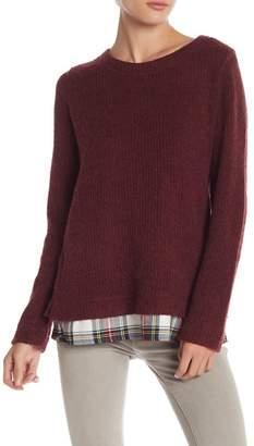 Sanctuary Shirttail Hem Sweater
