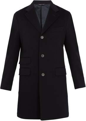 THOM SWEENEY Single-breasted wool and cashmere-blend coat