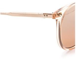 Rialto GARRETT LEIGHT Mirrored Sunglasses