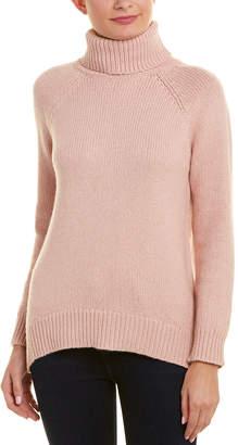 Velvet by Graham & Spencer Turtleneck Wool-Blend Sweater