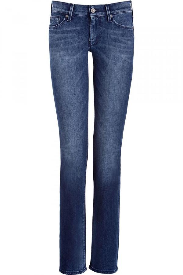 Seven for all Mankind Blue Classic Straight Leg Jeans Ustica