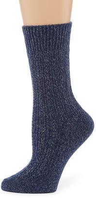 Cuddl Duds Crew Socks - Womens