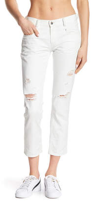 Diesel Belthy Slim Straight Leg Ankle Jeans