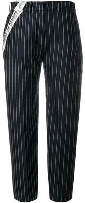 House of Holland tailored pinstripe tousers