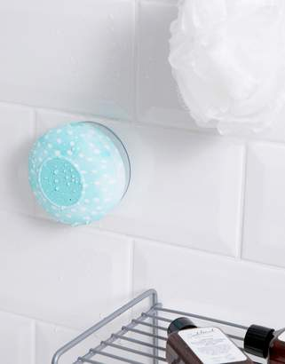Cotton On blue polka dot shower speaker