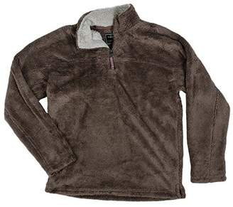 True Grit Men's Double Plush 1/4 Zip Pullover