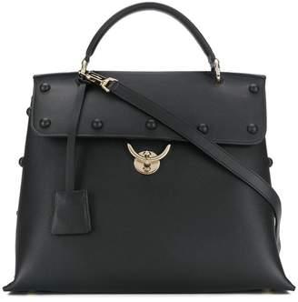 Salvatore Ferragamo stud-embellished tote bag