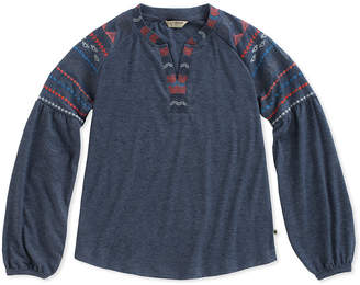 Lucky Brand Tessa Embroidered Top