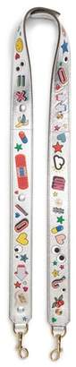 Anya Hindmarch Allover Sticker Guitar Bag Strap