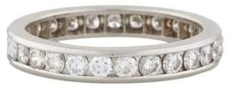 Tiffany & Co. Platinum & Diamond Wedding Band
