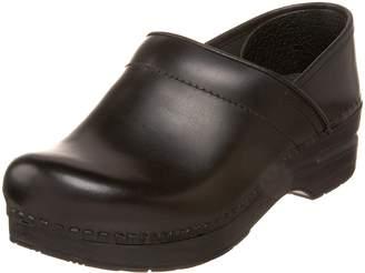 Dansko Women's Professional Cabrio Leather, Black