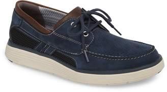 Clarks R) Unabobe Step Boat Shoe