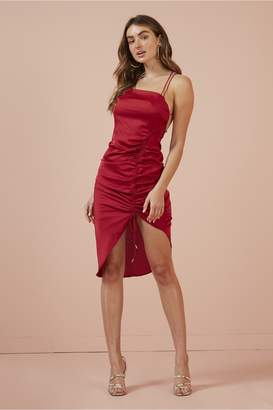 Finders Keepers EMILIA DRESS red