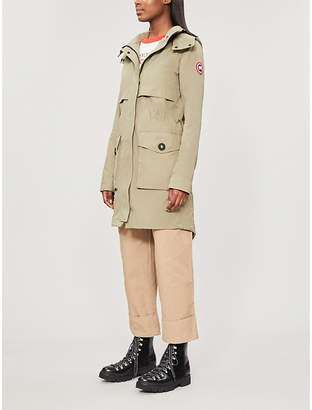 Canada Goose Cavalry funnel-neck shell jacket