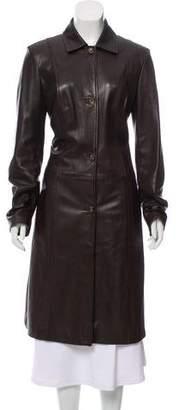Barneys New York Barney's New York Long Structured Coat