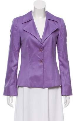 Giorgio Armani Silk & Wool-Blend Jacket