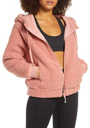 Zella Farrah Hooded Fleece Jacket