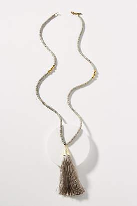 Arnette Ink + Alloy Tassel Pendant Necklace
