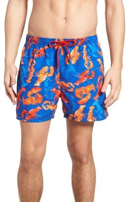 BOSS Piranha Lobster Swim Trunks
