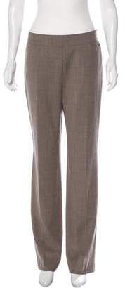 Akris Punto Mid-Rise Wide-Leg Wool Pants