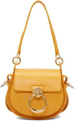 Chloé Yellow Small Tess Bag