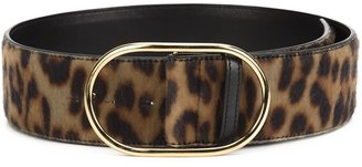 Stella McCartney leopard print belt