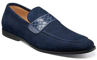 Stacy Adams Crispin Suede Slip On Loafer
