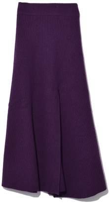 Altuzarra Cavin Skirt in Royal Purple