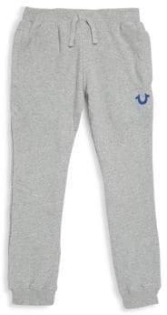 True Religion Little Boy's Heather Cotton Sweatpants