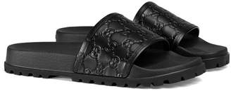 Gucci Signature slide sandal