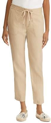 Lauren Ralph Lauren Linen Drawstring Pants