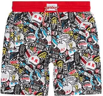 Marc Jacobs Graphic Badge Shorts