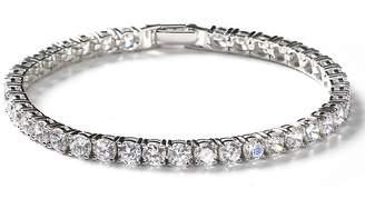 Crislu Round-Cut Tennis Bracelet