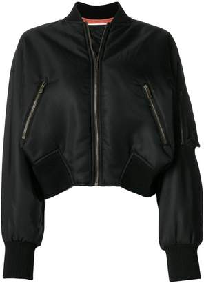 Valentino 1971 cropped bomber jacket