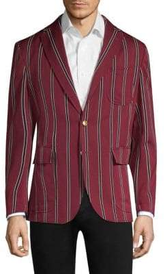 Polo Ralph Lauren Cricket Stripe Wool& Cotton Sportcoat