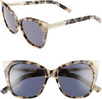 Cat Eye Pared Cat & Mouse 51mm Sunglasses