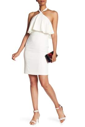 Amanda Uprichard Halter Neck Sleeveless Dress