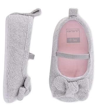 Carter's Girls' Soft Sole Mary Jane Dress Crib Shoe
