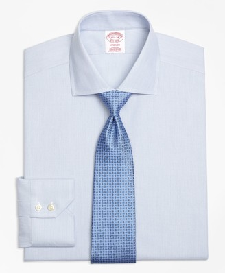 Brooks Brothers Madison Classic-Fit Dress Shirt, Non-Iron Mini-Stripe
