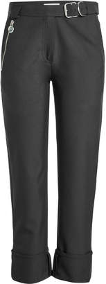 Carven Cropped Wool-Blend Pants