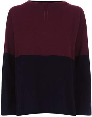Piazza Sempione Colour Block Cashmere Sweater